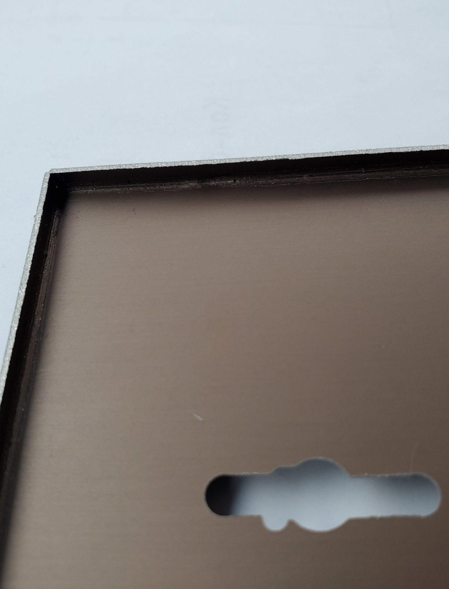 накладка из анодированного листа