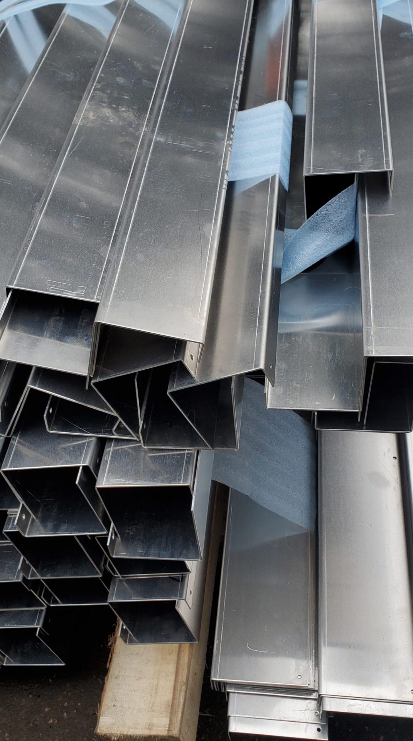 Производство профиля из алюминиевого листа